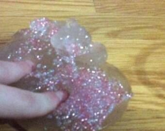 Clear bead slime/putty 4oz