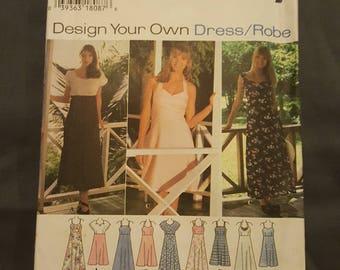 Simplicity Dress Pattern Sizes 10-14  9600