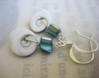 Spiral Shell Earrings