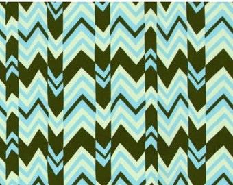 """Amy Butler Ritzy Stripe in """"Sky"""" from Nigella for Rowan Fabrics"""