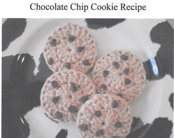Chocolate Chip Cookie Crochet Pattern