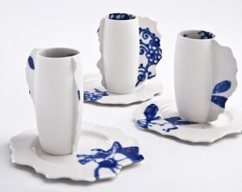 Kaffeetasse mit Untertasse (1 Set), Perfekt Imperfekt Kollektion