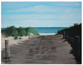 Picture / painting / Beach