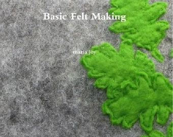 Tutorial How to Felt - Felt Making - Instruction - How to Wet Felt - How to make a Felted Cushion Cover