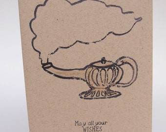 Greeting Card- May all your wishes come true