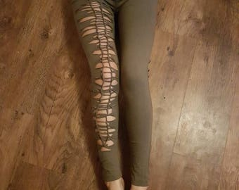 Pixie braided leggings