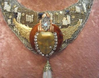 50% OFF - NECKLACE Statement Jewelry Handmade Art Deco - Statement Necklace