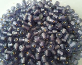 20g 4mm glass beads from India