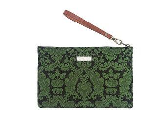 Violant de Coca 1479 Gift Box Bag, shoulder bag, handbag, wristlet bag, vanity case, makeup bag, damask, makeup pouch, traditional fabric