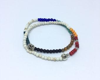 Beaded bracelet with still detail