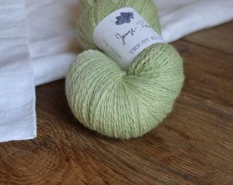 Young growth - Skein of Merino Wool organic vegetable dye