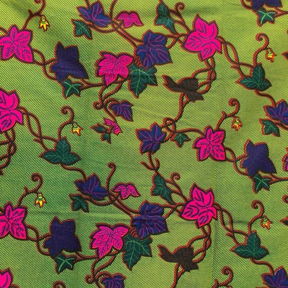 African Wachs drucken print Stoff Nähen Stoffe Afrikanische