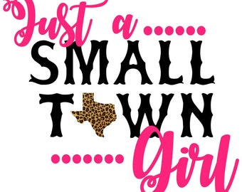 Southern Sublimation Transfer | Small Town Girl