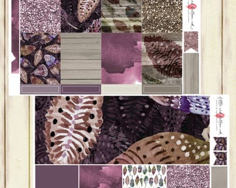 Purple Feathers Weekly Kit