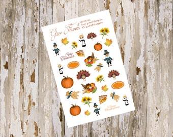 Give Thanks DecorativeSingle Sheets