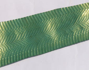 SKIN of snake leather finishing Pearl