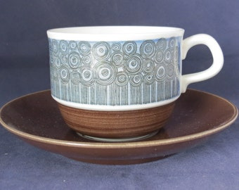 Rörstrand Of Sweden, Amanda, Coffee cup and Saucer