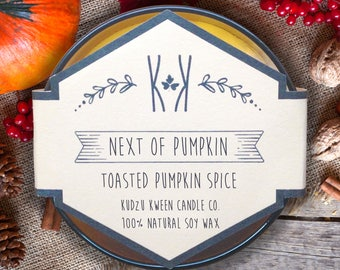"""SOY CANDLE - """"Next of Pumpkin"""""""