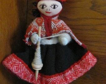 Vintage Peruvian Doll