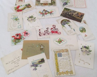 Vintage Postcards & Ephemera