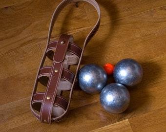 """Bowling bag """"Saryna"""" Brown - Pétanque"""