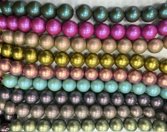 20mm round soft glow, rubbery gumball beads, 18beads,