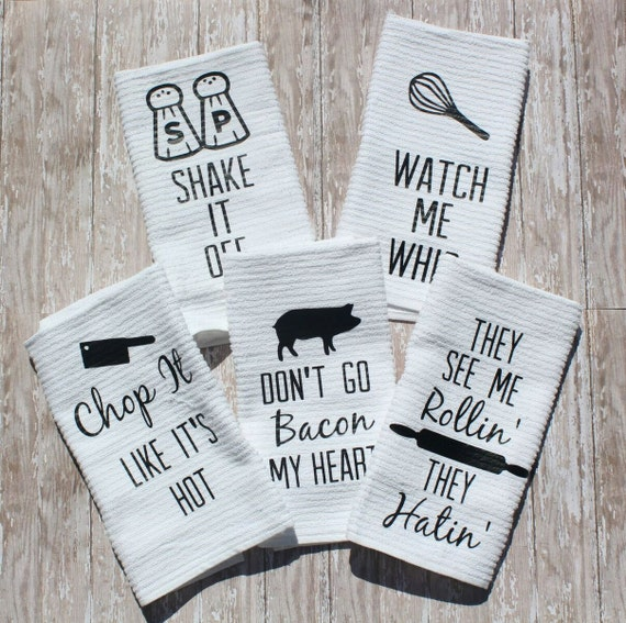 Exceptionnel Fun Kitchen Towels Set Of 5