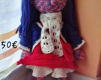 Girl, Amigurumi, handmade, gift, party, toys, puppets, dolls, animals, beauty, patterns, for children, adults, babies