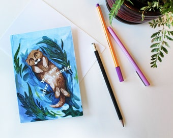 You Are Otter This World! Greeting Card