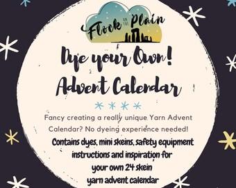 Dye your Own Yarn Advent Calendar