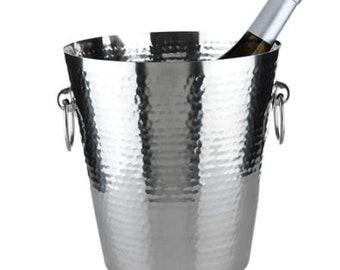 Manhattan Hammered Ice Bucket