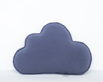 "Little cushion ""Cloud"", violet pillow"