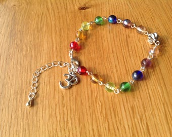 RAINBOW COLLECTION - Linked beaded bracelets