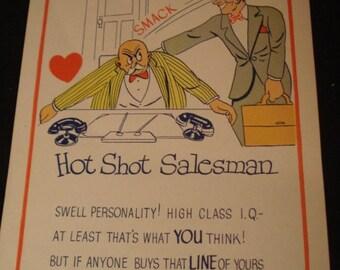 Vintage Fifties Large Paper Valentines