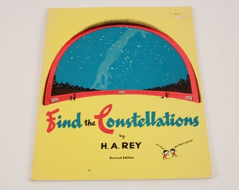 Find the Constellations, Rey, H. A., Good Book ~ The Pink Room ~ 170222