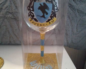 Large Harry potter, ravenclaw house wine goblet
