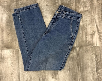 Vintage 90s Northern Reflections High Rise High Waist Straight Leg Mom Jeans - Size W30.5 / 10