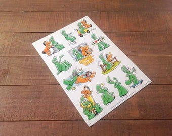 1983 Gumby and Pokey Stickers, Vintage Stickers, Vinage Gumby, Gumby, Pokey