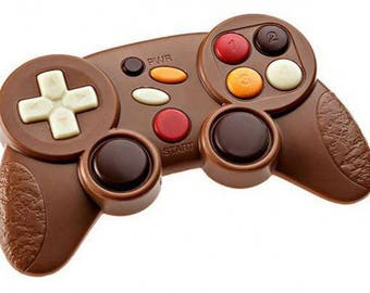 Chocolate Game Controller - xbox - playstation - stocking filler - christmas - birthday - present- gift - men - boy - dad - father