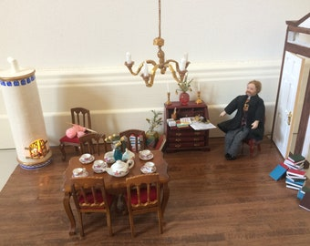 Luxury Dollhouse living room set