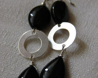 Onyx and silver