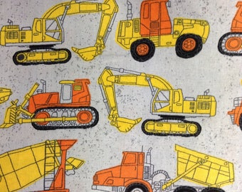 One 35 Inch Piece of Fabric Material - Construction Equipment