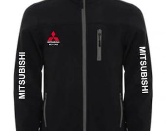 MITSUBISHI Stylish Soft Shell Jacket Wind And Water Resistant