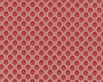 Moda RUE INDIENNE Quilt Fabric 1/2 Yard By French General - Rouge 13685 14