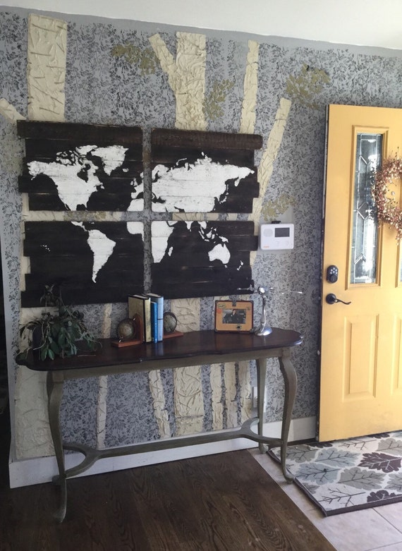 World map rustic wood map large world map wall art world map rustic wood map large world map wall art wooden world map map wall hanging map of the world rustic world map gumiabroncs Images