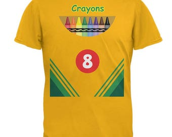 Halloween Crayon Box Costume Mens T Shirt