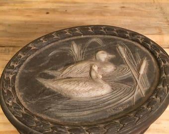 Incolay jewelry trinket box