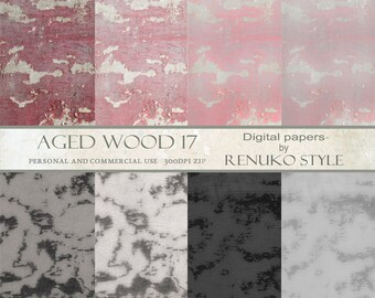 Aged wood 17 Distressed Wood  Scrapbook Papers Photoshop Backgrounds