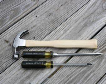 Stanley 100 Plus hammer and screwdrriver set