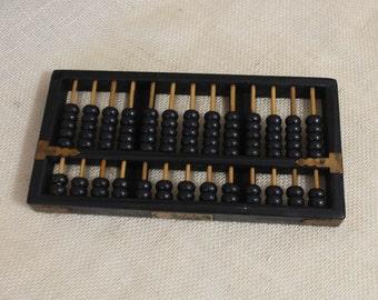 Vintage Large Oriental / Asian Abacus - Original Calculator.